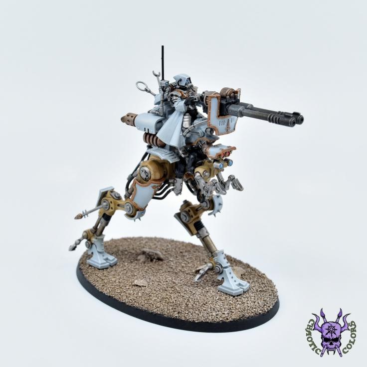 Adeptus Mechanicus - Ironstrider Ballistarius (3)