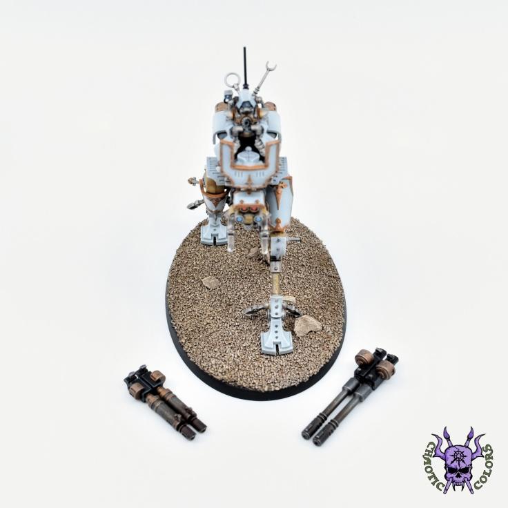 Adeptus Mechanicus - Ironstrider Ballistarius (4)