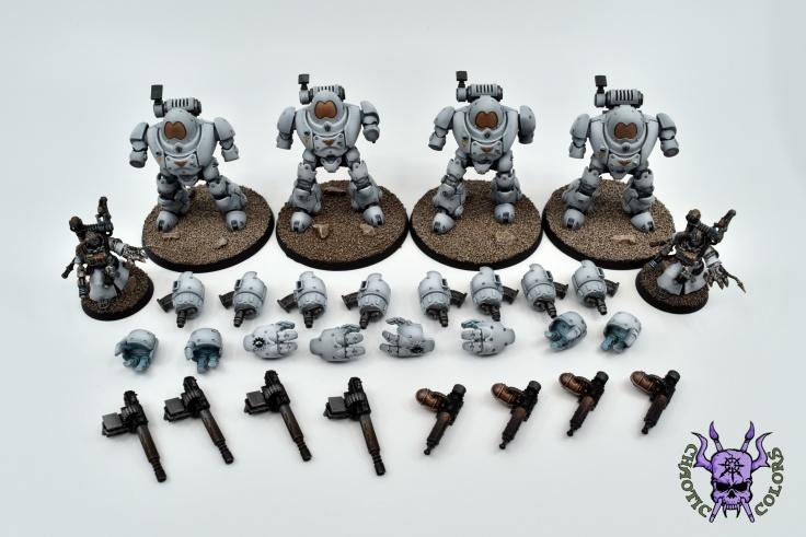 Adeptus Mechanicus - Kastelan Robots (6)