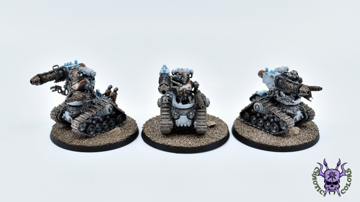 Adeptus Mechanicus - Kataphron Destroyers (3)