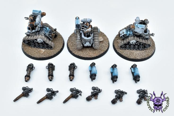 Adeptus Mechanicus - Kataphron Destroyers (4)