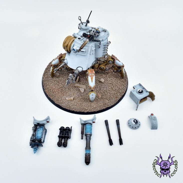 Adeptus Mechanicus - Onager Dunecrawler (10)