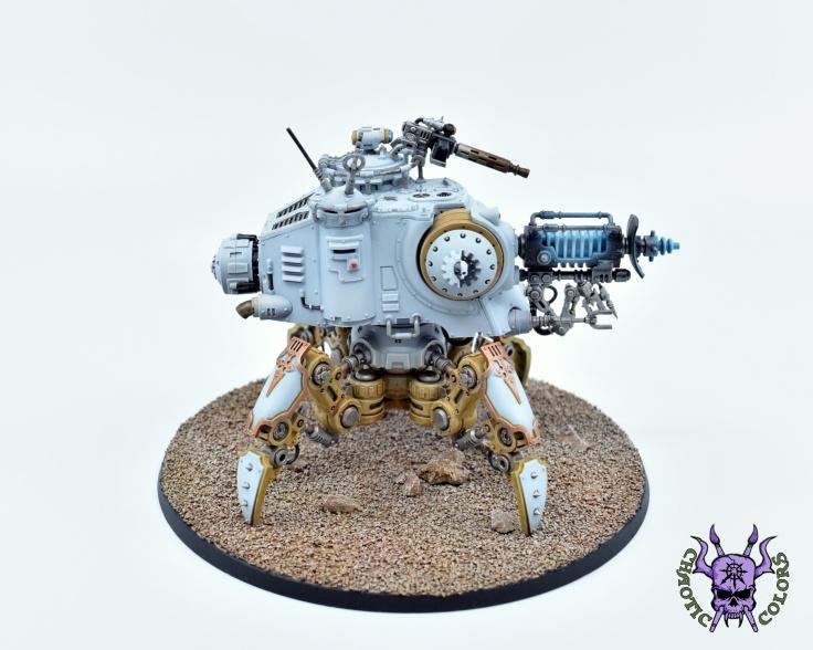 Adeptus Mechanicus - Onager Dunecrawler (2)