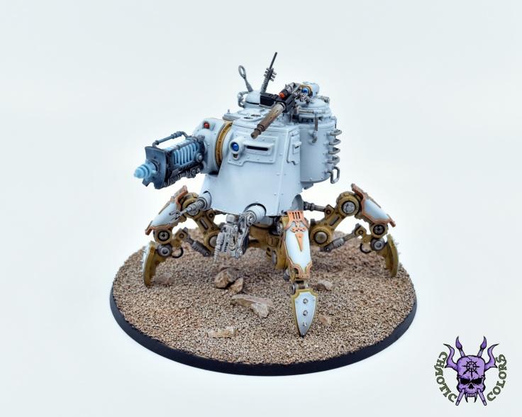 Adeptus Mechanicus - Onager Dunecrawler (5)