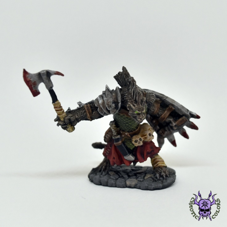 D&D - Gnoll Warrior (Bloodmane) (1)
