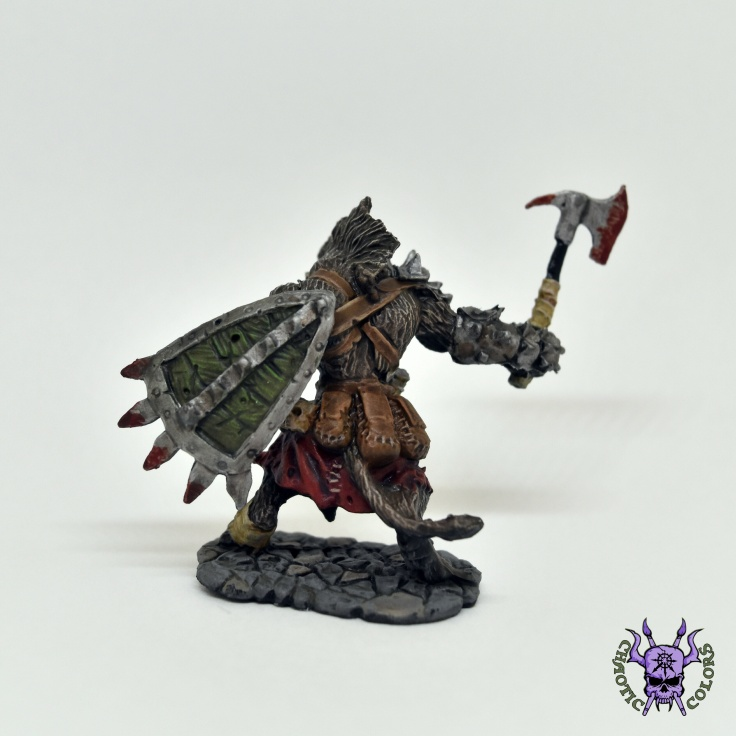 D&D - Gnoll Warrior (Bloodmane) (2)
