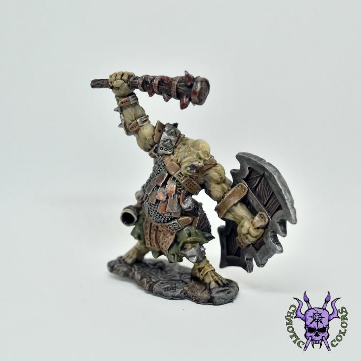 D&D - Kagunk, Ogre Chieftain (Reaper Bones) (1)