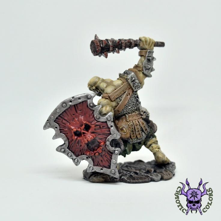 D&D - Kagunk, Ogre Chieftain (Reaper Bones) (2)